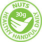 Nuts for life healthy handful logo